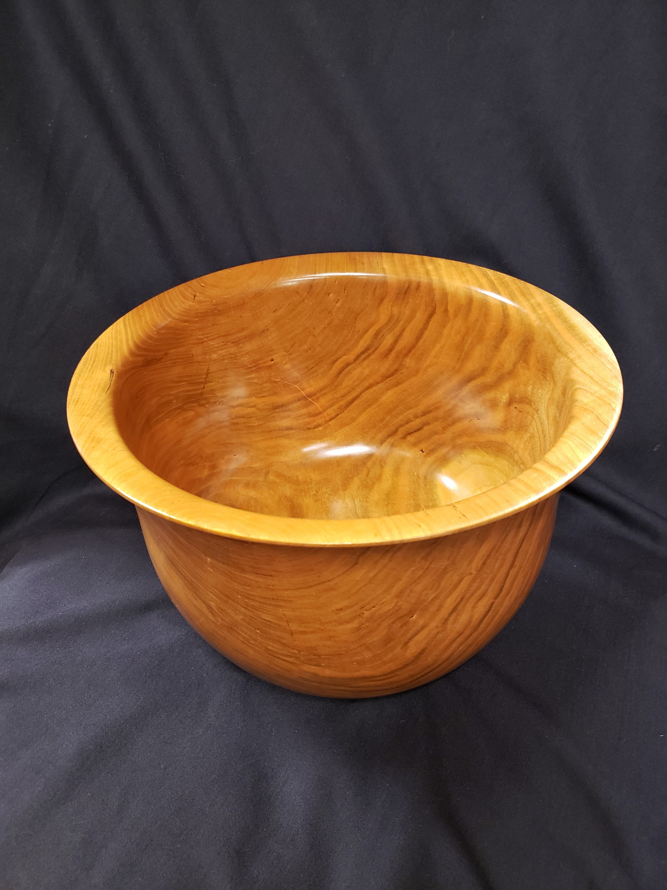 Large Cherry Bowl by Peter Mockridge
