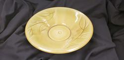 Carved Stoneware Platter by Robin Ki