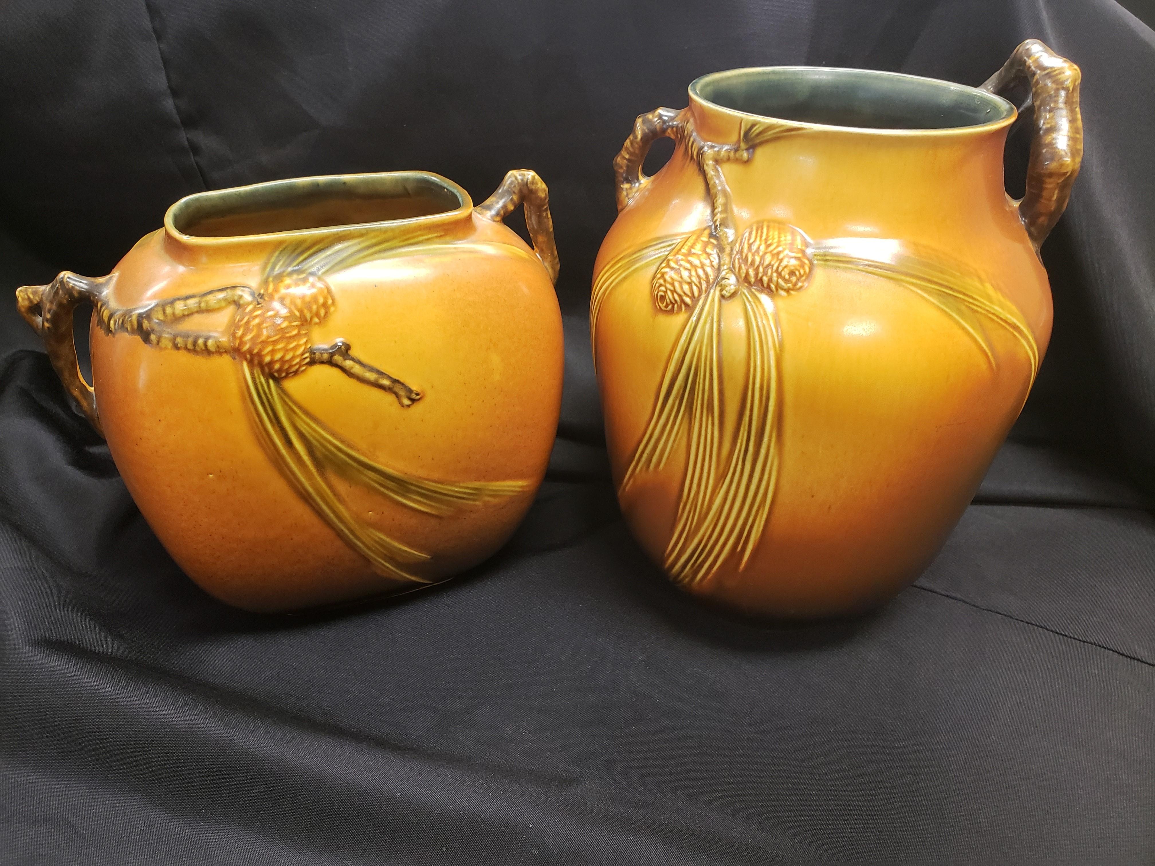 Roseville Pottery Vases