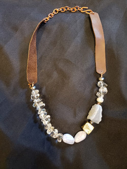 Stone Necklace from Be Boutique
