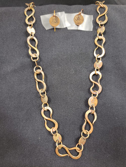 Om Link Necklace by Jimmi Buell