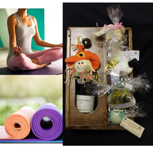 Private Yoga and Self-Care Basket