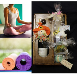 Private Yoga and Self-Care Basket