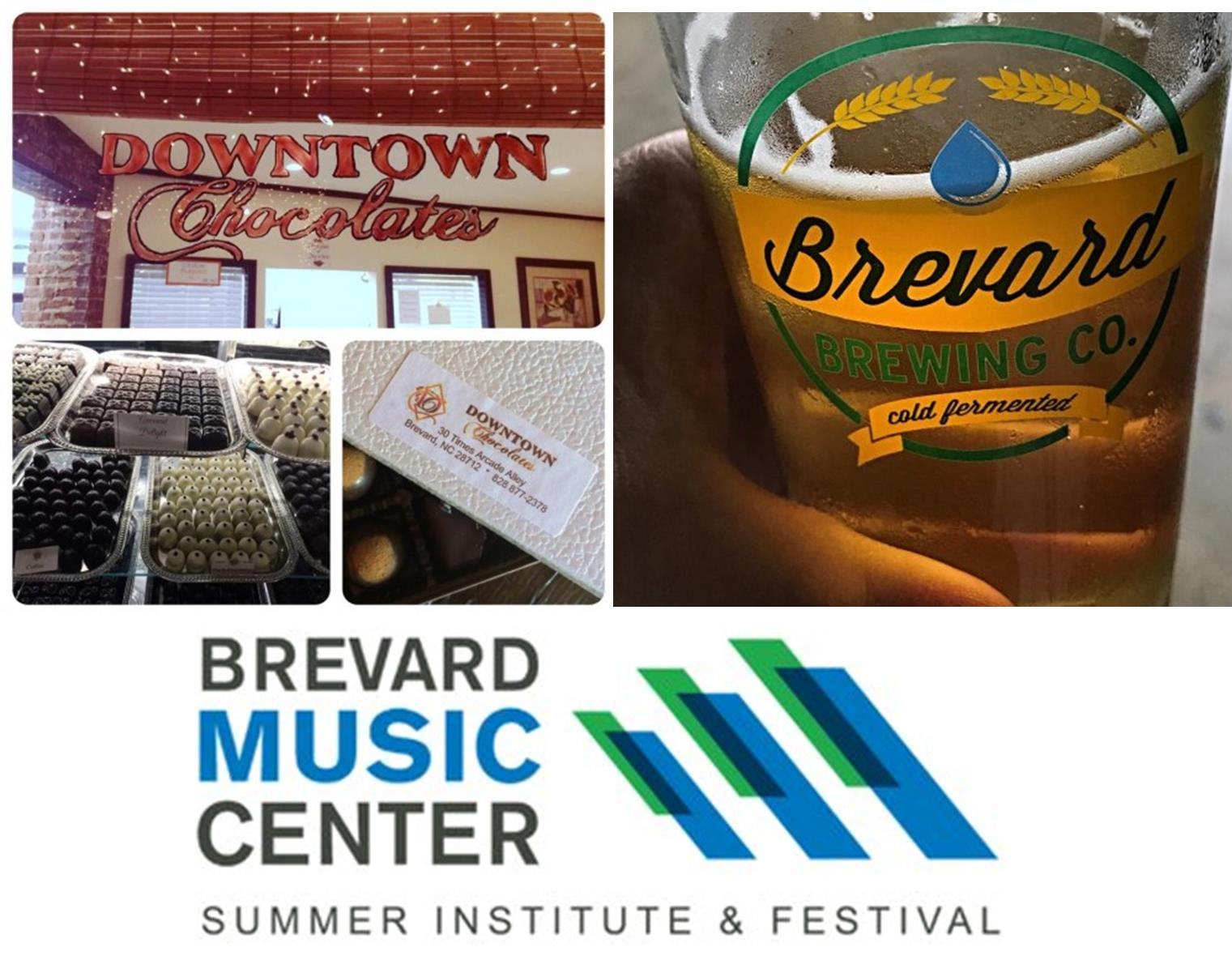 Brevard Music, Chocolate, and Brews