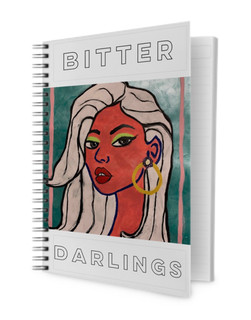 Kylie Bitter Darlings  Spiral Notebook