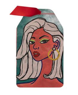Kylie Bitter Darlings  Metal Ornament