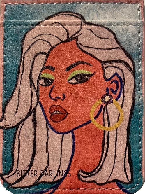 Kylie phone card holder