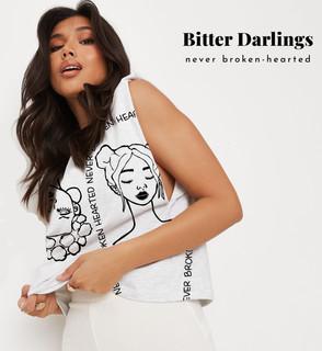 Bitter Darlings Cropped Muscle Tee