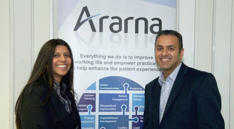 Harry Banga and Sukie Banga a brother and sister team from Ararna