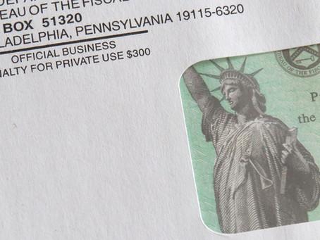 Tercer cheque de estímulo, $1,400 dólares!