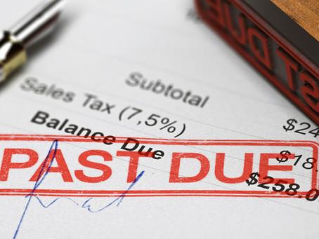 Consecuencias de deudas que no se pagan
