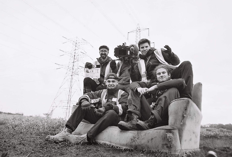Camera Crew on See No Evil