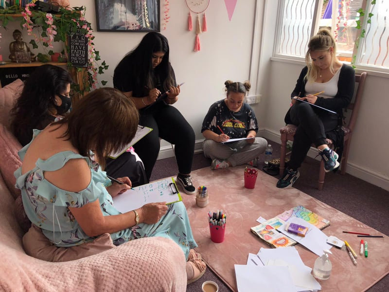 Group - Creative Mindfulness Session