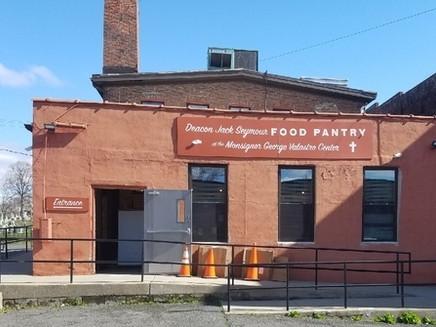 Deacon Jack Seymour Food Pantry, Newburgh, NY