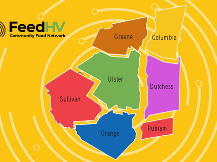 Did you know? The FeedHV network now extends into Sullivan, Greene, Putnam and Columbia counties?