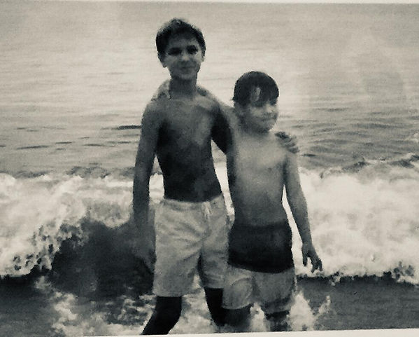 me and wes kids at beach.jpeg