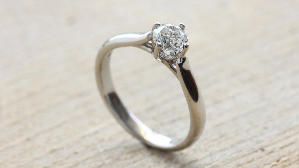 Elegant Solitaire Engagement Ring