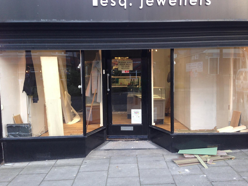 Re-fit of Dytham Jewellers