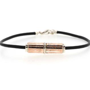 Mokume gane bead bracelet