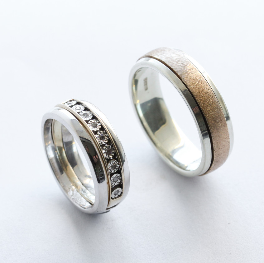 Spinner Wedding Ring