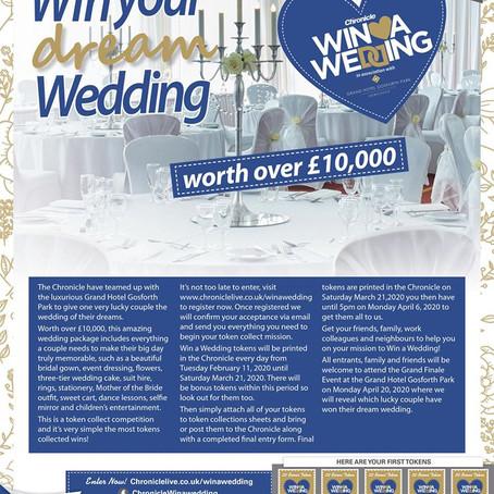Win a wedding!