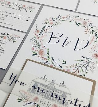 Wedding Invites Photo 01 Leanne Stamp -