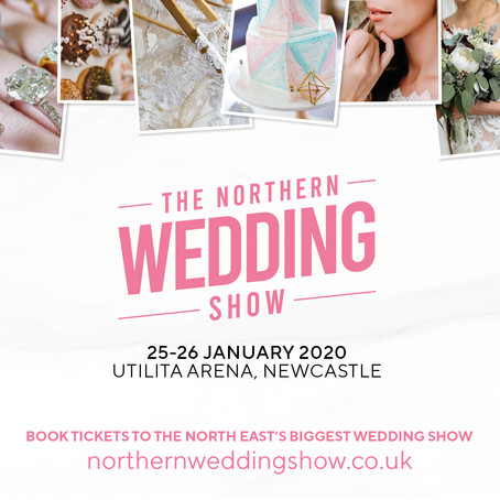 We are attending the Northern Wedding show!