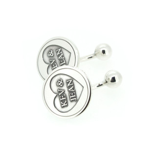 Jean and Kevin's Grooms Cufflinks