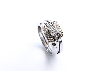 wedding mobius gold mixed bands rings metals rose lovely of unique ring band pinterest