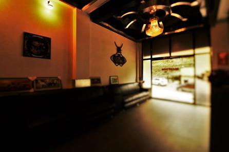 Reception seating Area | Hotel Mandakini