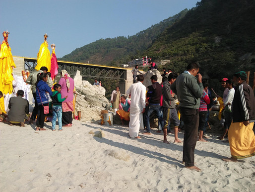 Garhwal rituals of performing Pandav Nritya