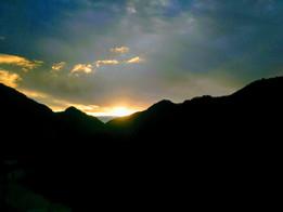 Sunset at Rudraprayag by Hotel Mandakini