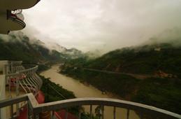 River View from Hotel Mandakini Rudraprayag.JPG