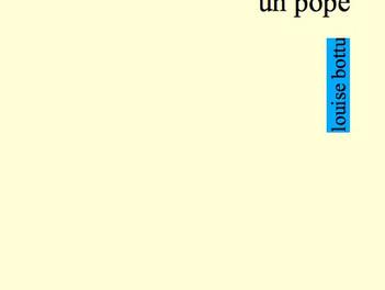 Le prochain titre de Louise Bottu