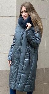 Зимнее пальто на верблюжьей шерсти