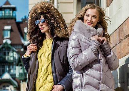 Новая зимняя коллекция женских пуховиков