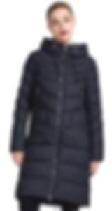 Зимнее пальто на холлофайбере