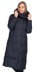 Женское пальто на биопухе