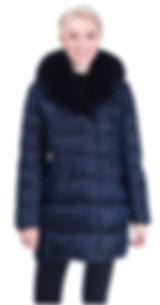 Зимняя куртка на тинсулейте с песцом
