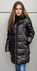 Зимнее пальто на тинсулейте