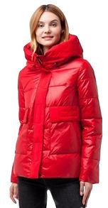 Зимняя куртка на биопухе