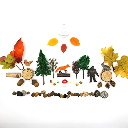 Fall Forest Play Pieces