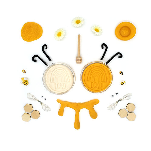 Honey Bee Mini Kit (Full Size Dough and Play Pieces)