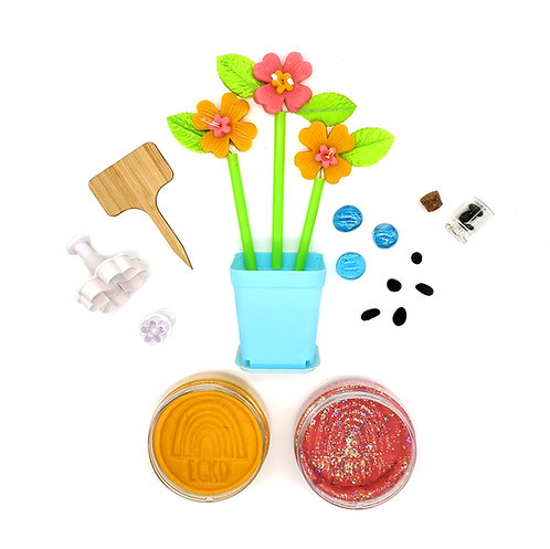 Flower Mini Kit (Full Size Dough and Play Pieces)