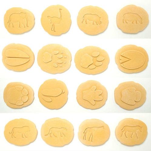 Safari Reversible Stamper Stones