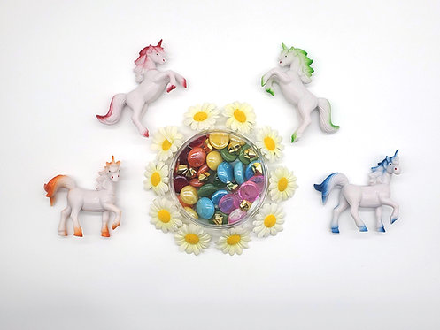 Disco Unicorn Play Pieces (Themed Play Kit ONLY)