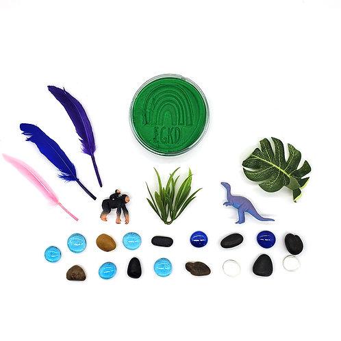Pre-Historic Forest Mini Kit Duo (One Dough, 2 Mini Play Kits)