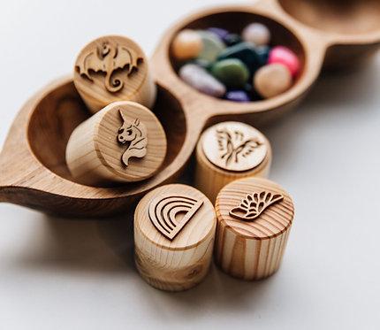 Fantasy Wood Stamp Set