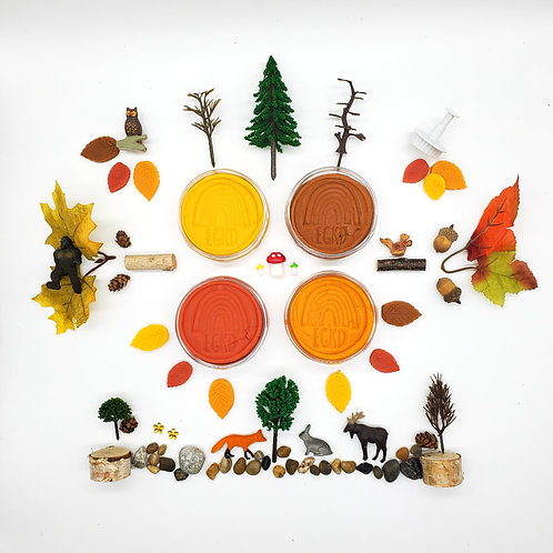Forest Play Kit (Dough and Themed Play Kit)