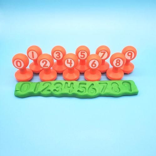 WeeBee Number Stamper Set